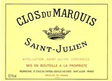 Clos Du Marquis 2016