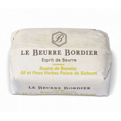 Pre-Order: Le Beurre Bordier Garlic & Herbs Flavour with Szechwan Pepper Butter