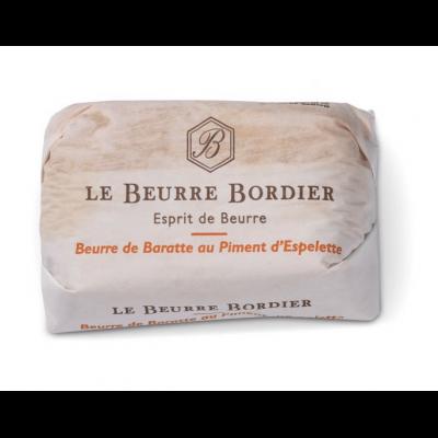 Le Beurre Bordier Piment d'Espelette Butter