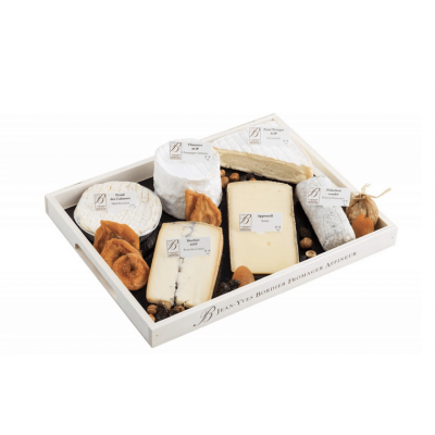 Le Bordier Platter of 6 Cheeses