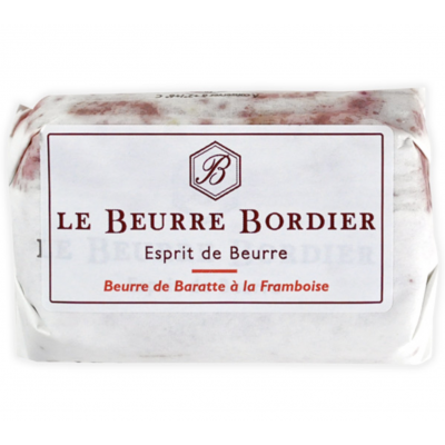 Pre-Order: Le Beurre Bordier Framboise / Raspberry Butter