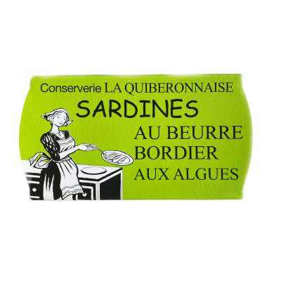 Bordier Sardines with Seaweed Butter