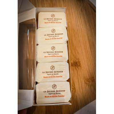 Le Beurre Bordier Demi Sel 2.8% Butter (Semi Salt) - MINI