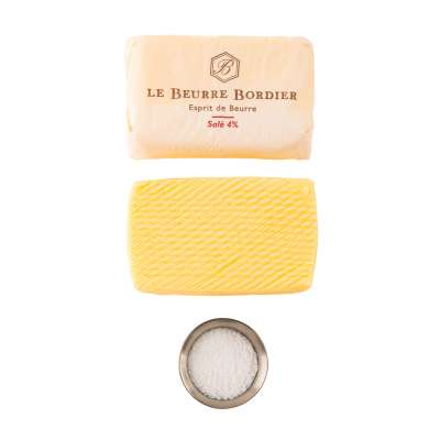 Le Beurre Bordier Salted 4% Butter