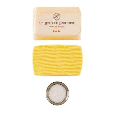 Le Beurre Bordier Demi Sel 2.8% Butter (Semi Salt)