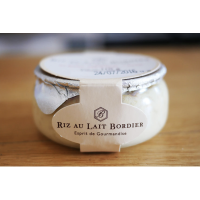 Le Bordier Riz au Lait / Bordier Rice Pudding