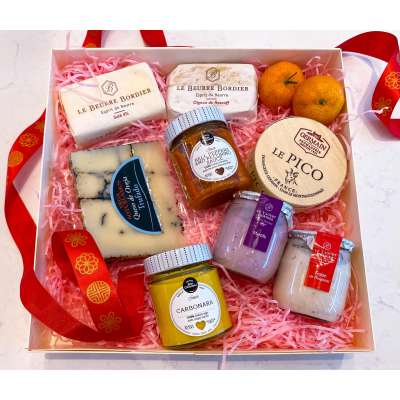 Bordier + Cheese Gift Box