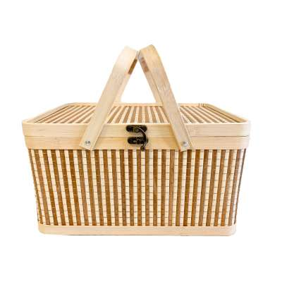 Custom Gift Basket with Handle