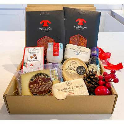Bordier, Cheese & Charcuterie Gift Box