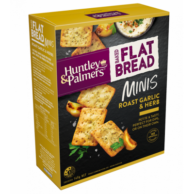 Huntley & Palmers Garlic Herbs Crackers