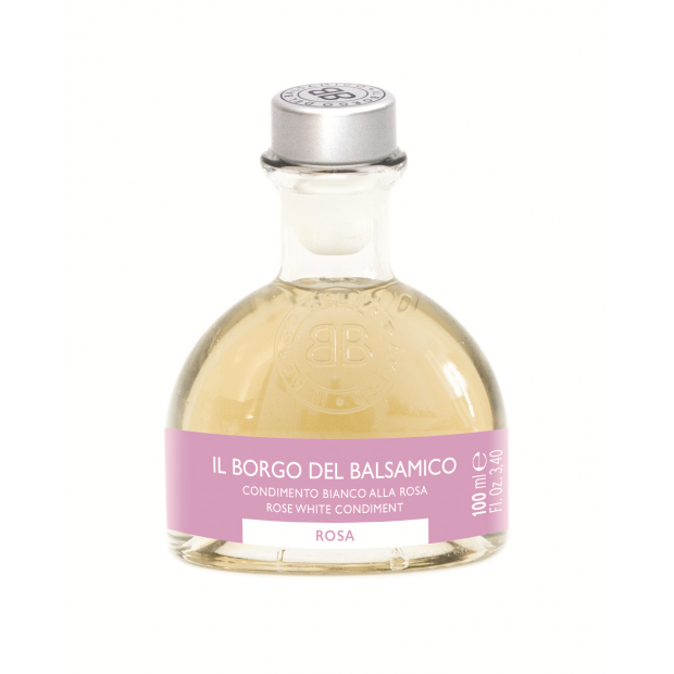 Il Borgo White Condiment with Rose
