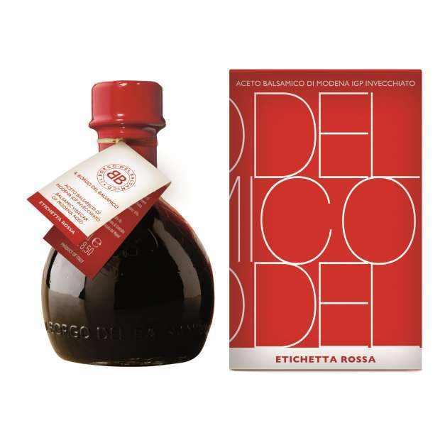 Il Borgo Balsamic Vinegar of Modena IGP – Red – 70 brix