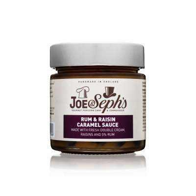 Joe&Seph's Rum & Raisin Caramel Sauce