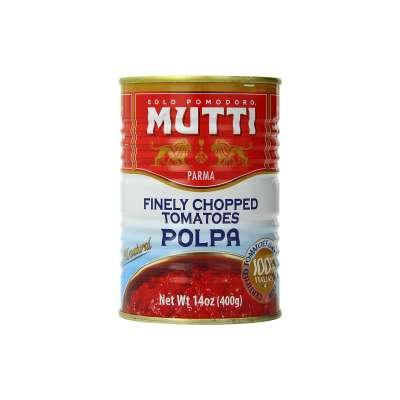 Mutti Finely Chopped Tomatoes sauce