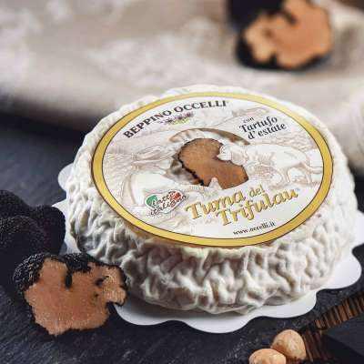 Tuma del Trifulau Cheese / Tuma Truffle Cheese