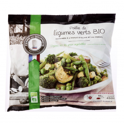 Pom Bistro Organic Frozen Green Stir-Fry Vegetables