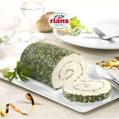 Rians Le Roulé Ail et Fines Herbes / Garlic & Herbs Soft Cheese