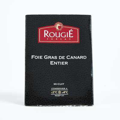 Rougie Semi Preserved Whole Duck Foie Gras
