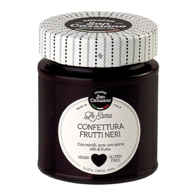Cascina San Cassiano Blackberries Extra Preserve
