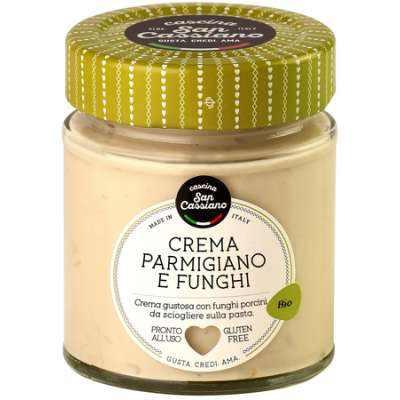 Cascina San Cassiano Organic Parmigiano Reggiano Cream with Porcini