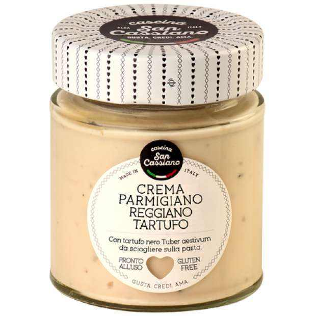 Cascina San Cassiano Parmigiano Reggiano and Truffle Cream