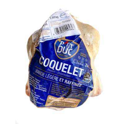 Savel P'tit Duc Coquelet / White Spring Chicken