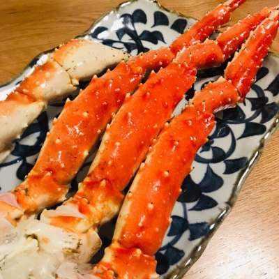 Tarabagani Hokkaido Red King Crab 5L (Cooked)