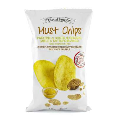 Tartuflanghe Must Chips with Mustard, Honey and White Truffle
