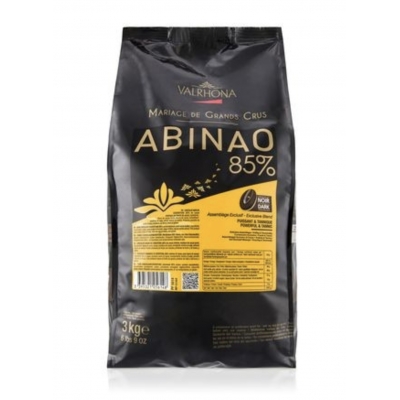 Valrhona Abinao 85% Extra Dark Chocolate Feves