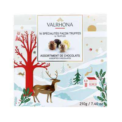 Valrhona Truffle Chocolate Giftbox